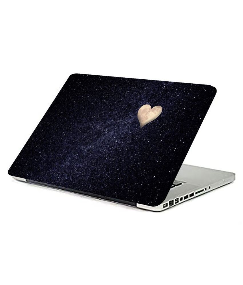 Laptop Skin Heart symbol Premium matte finish vinyl HD printed Easy to Install Laptop Skin/Sticker/Vinyl/Cover for all size laptops upto 15.6 inch