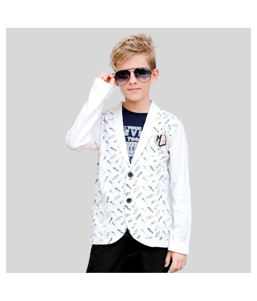MashUp Fashionable Shrug Set for Young boys
