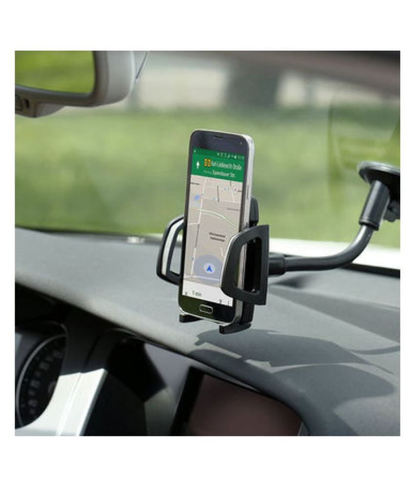 PD Car Mobile Holder Single Clamp for Windshield Only - Multicolour