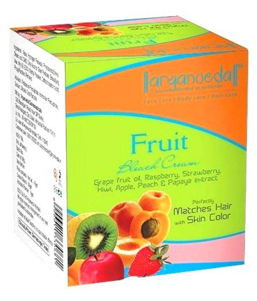 Aryanveda  Fruit Bleach  Day Cream  250 gm