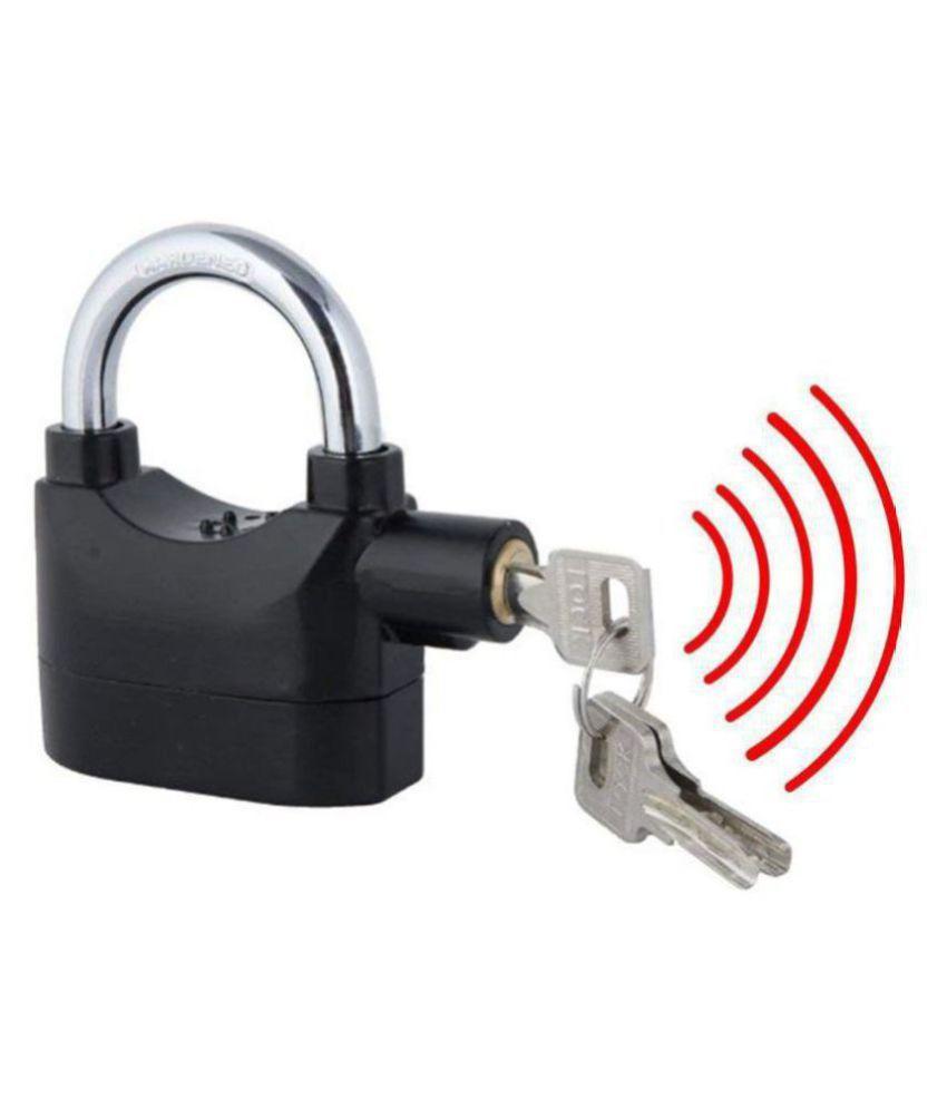 EIGHTEEN ENTERPRISE  Anti Theft Burglar Pad Lock Alarm Security Siren Home