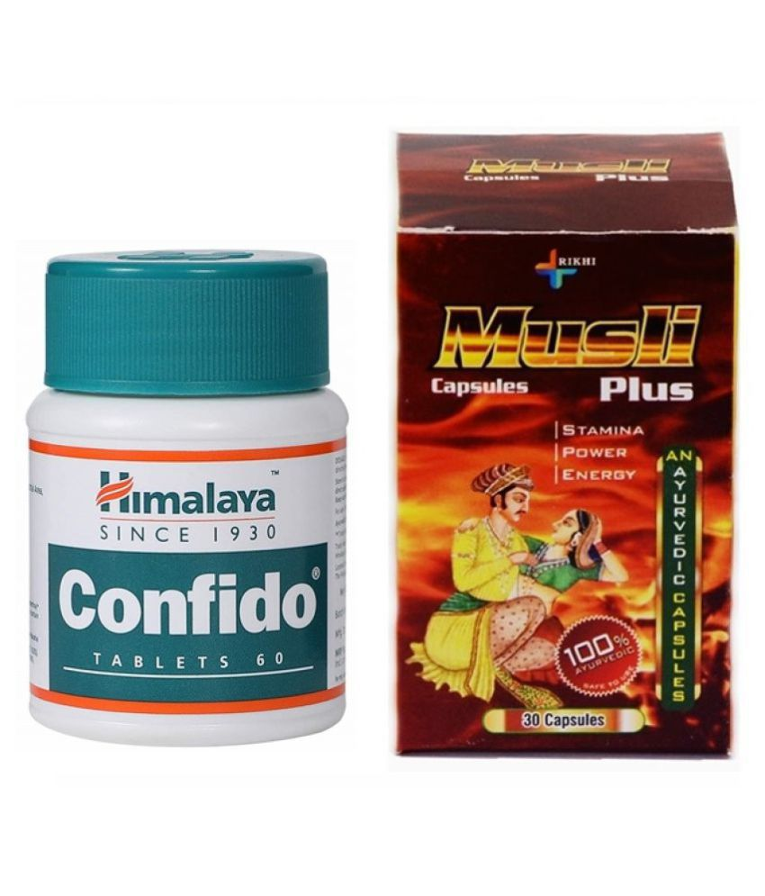 Herbal Care Confido 60 Tablets & Herbal Musli Plus Capsule 30 no.s