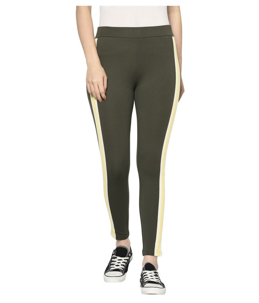 2Bme Rayon Jeggings - Green