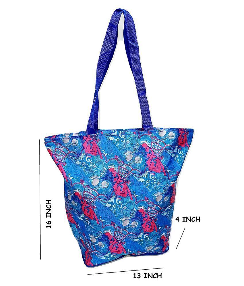 Da Tasche Blue Shopping Bags - 1 Pc