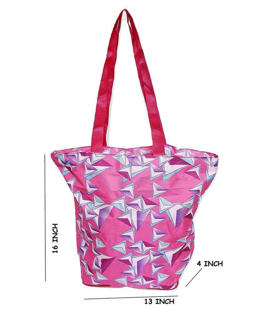 Da Tasche Pink Shopping Bags - 1 Pc