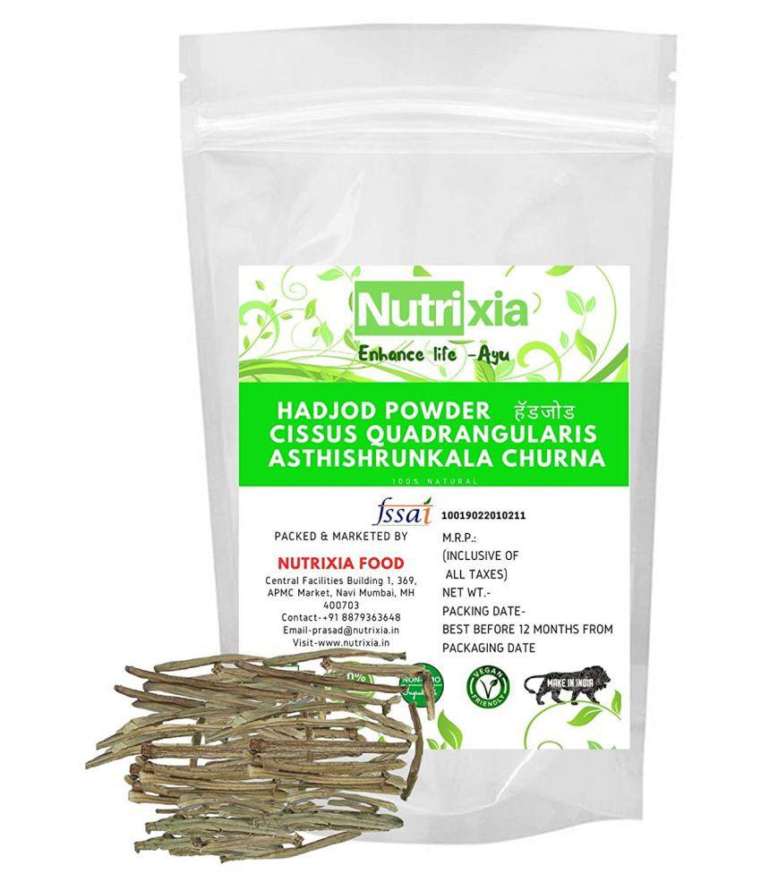 Nutrixia Food Hadjod Powder/Hadjora Vajravalli Powder 250 gm Pack Of 1