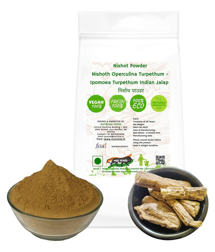 Nutrixia Food Nishot Powder Nishoth Indian Jalap Powder 100 gm Pack Of 1