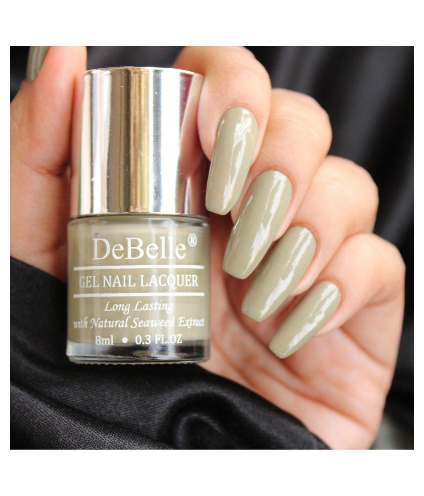 DeBelle Olive jade Nail Polish Olive Glossy 8 mL