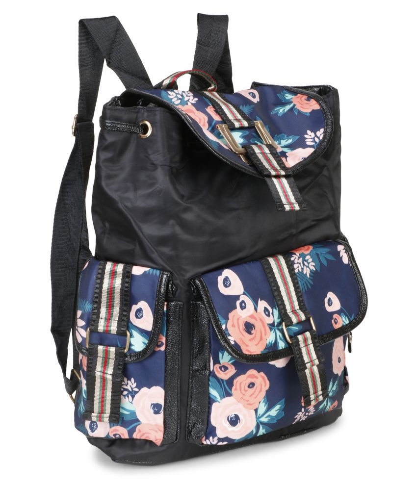 aims fusion Black Polyester College Bag