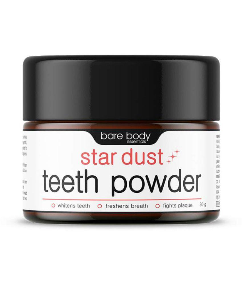 Bare Body Essentials Star Dust Teeth Whitening Powder 30 gm