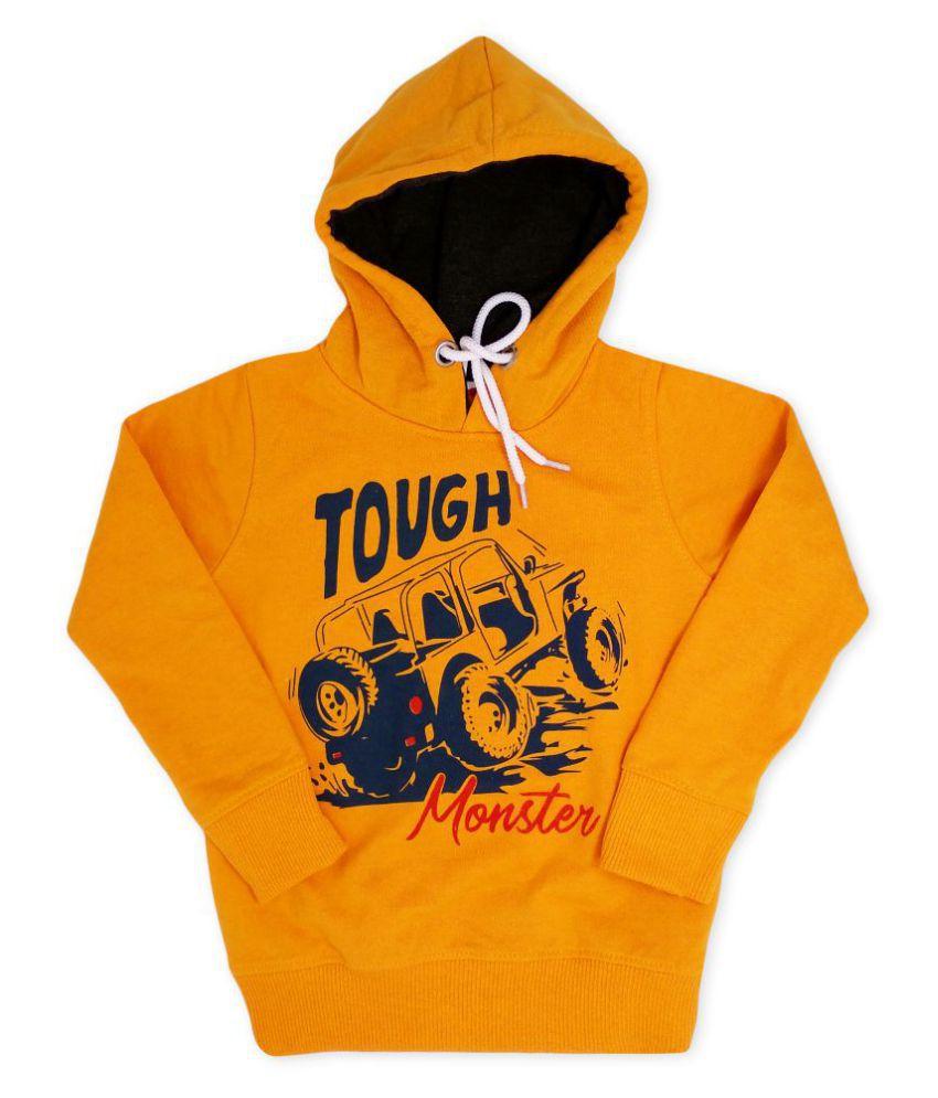 Toon Toon Kids Hoodie/Sweatshirt (Yellow)