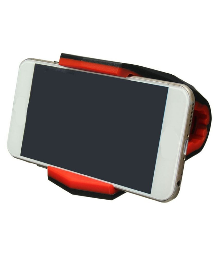 AutoRight Car Mobile Holder Vertical Clip for Other Surfaces - Red
