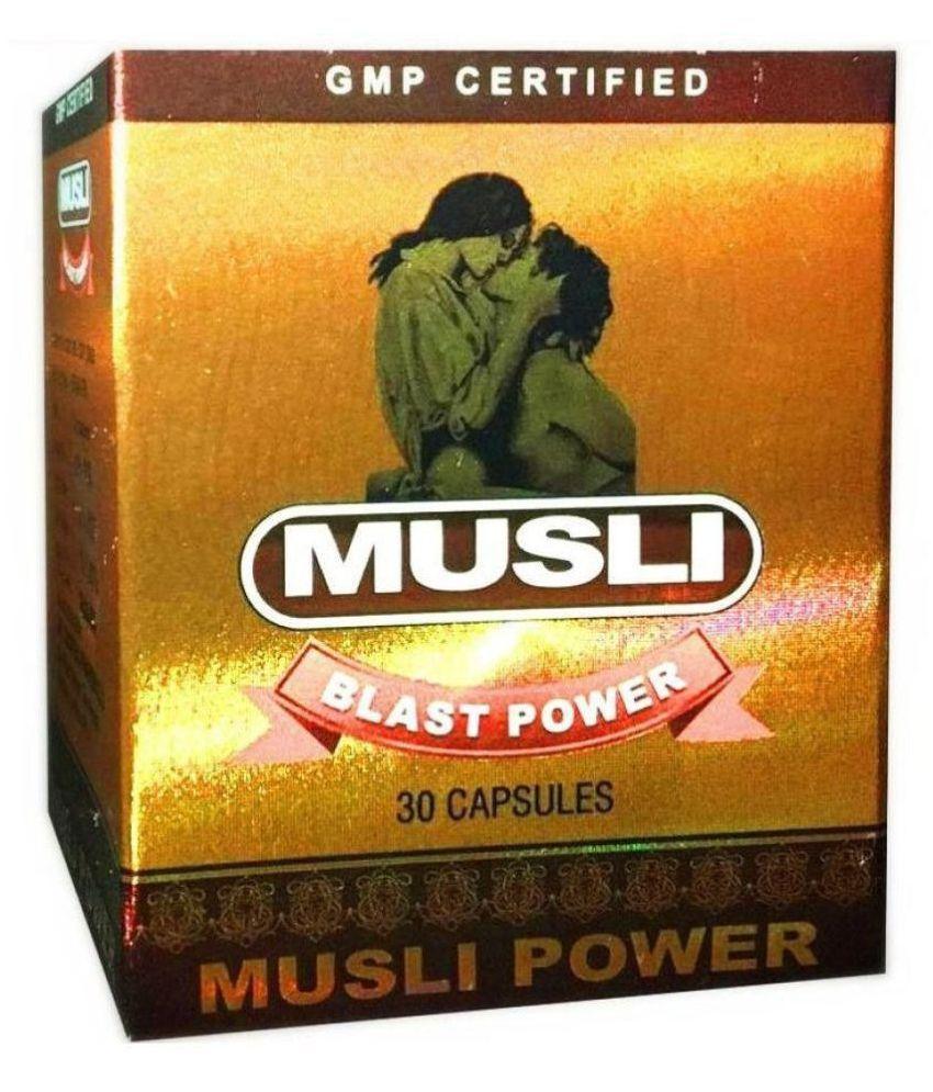 Dr.Chopra safed Musli Blast Power 100% Ayurvedic Capsule 60 no.s Pack Of 2