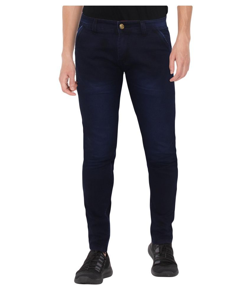 HYMEN LEGIONS Dark Blue Regular Fit Jeans