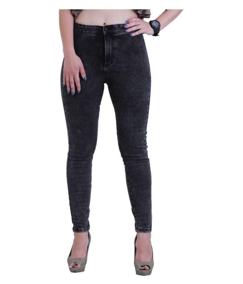 Sisney Denim Lycra Jeans - Black