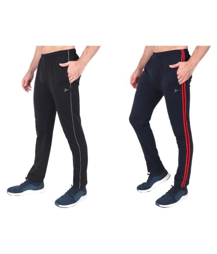 Zeffit Multi Cotton Blend Trackpants Pack of 2