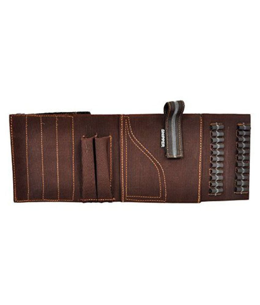 Schieben Innovations Belly Holster For Gun And Pistol Pistol Cover Free Size (Brown)
