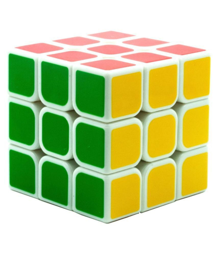 Dealbindaas Speed Cube 3X3 Sticker Less 3 D Cube Puzzle Game for Beginners and Professionals