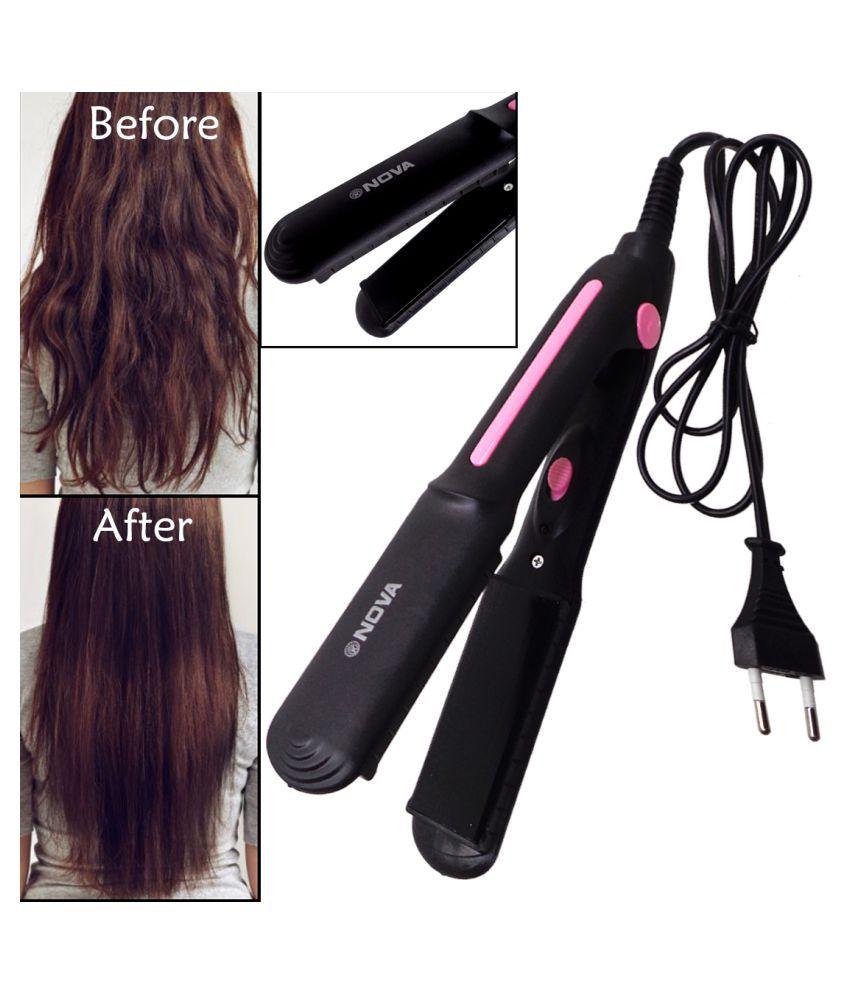RD Women Lady Silk Smooth Ceramic PTC Heater Hair Straightener Fast 30W Multi Casual Fashion Comb