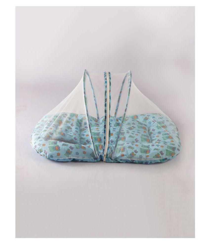 KOLAR Blue Cotton Mosquito Net ( 40 cm × 48 cm)