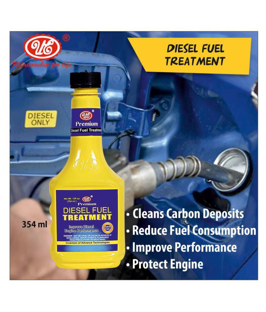 UE Premium Diesel Fuel Treatment and Injector Cleaner to Restore and Improve Engine Performance, Friction, Sound Reduction & Deposit Cleaning - 354 ML Car Care/Car Accessories/Automotive Products
