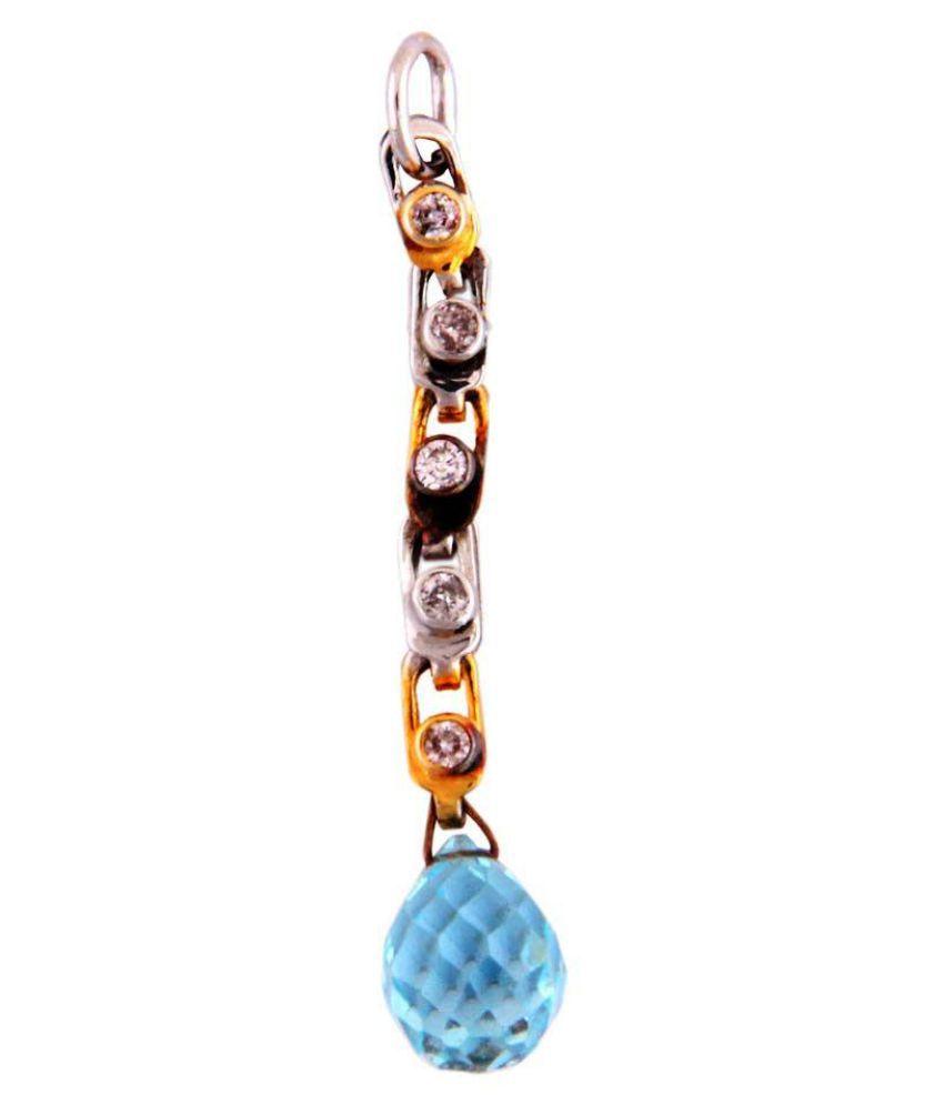 Beautiful Natural Diamond Pendant For Womens