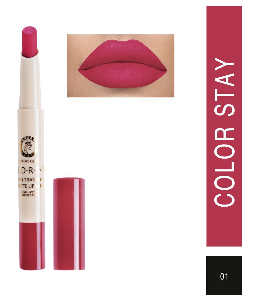 Colors Queen Creme Lipstick Rose Pink 7 g