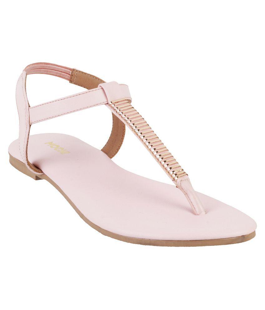 Mochi Pink Flats