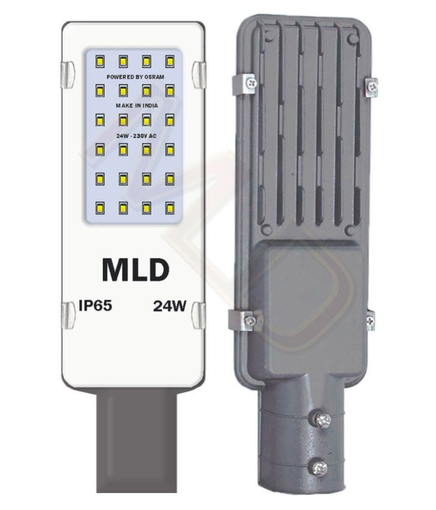 MLD 24 Watts IP 65 Street Lights Cool Day Light - Pack of 1