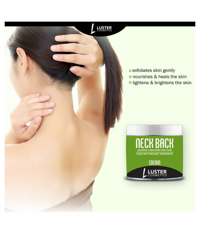 Luster Cosmetics Neck Back (Light & Brightens Skin Tone) Cream