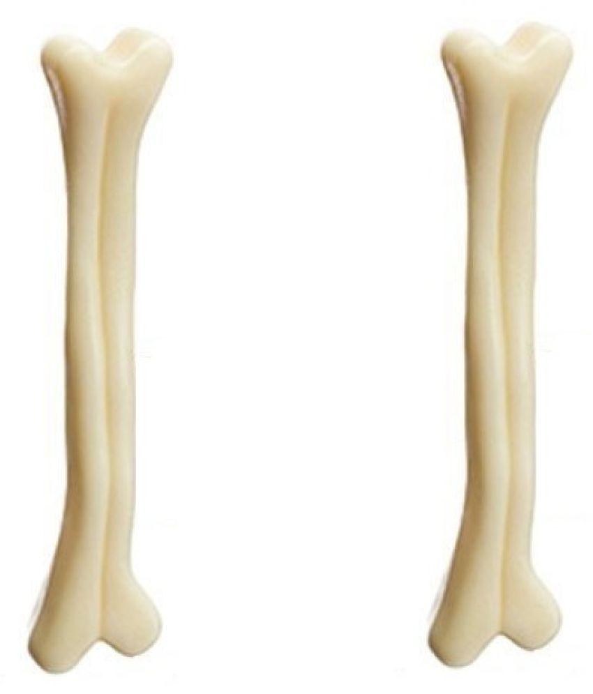 KOKIWOOWOO  Nylon Fetch Toy Bone for Dog 7' Inch ( Pack of 2 )