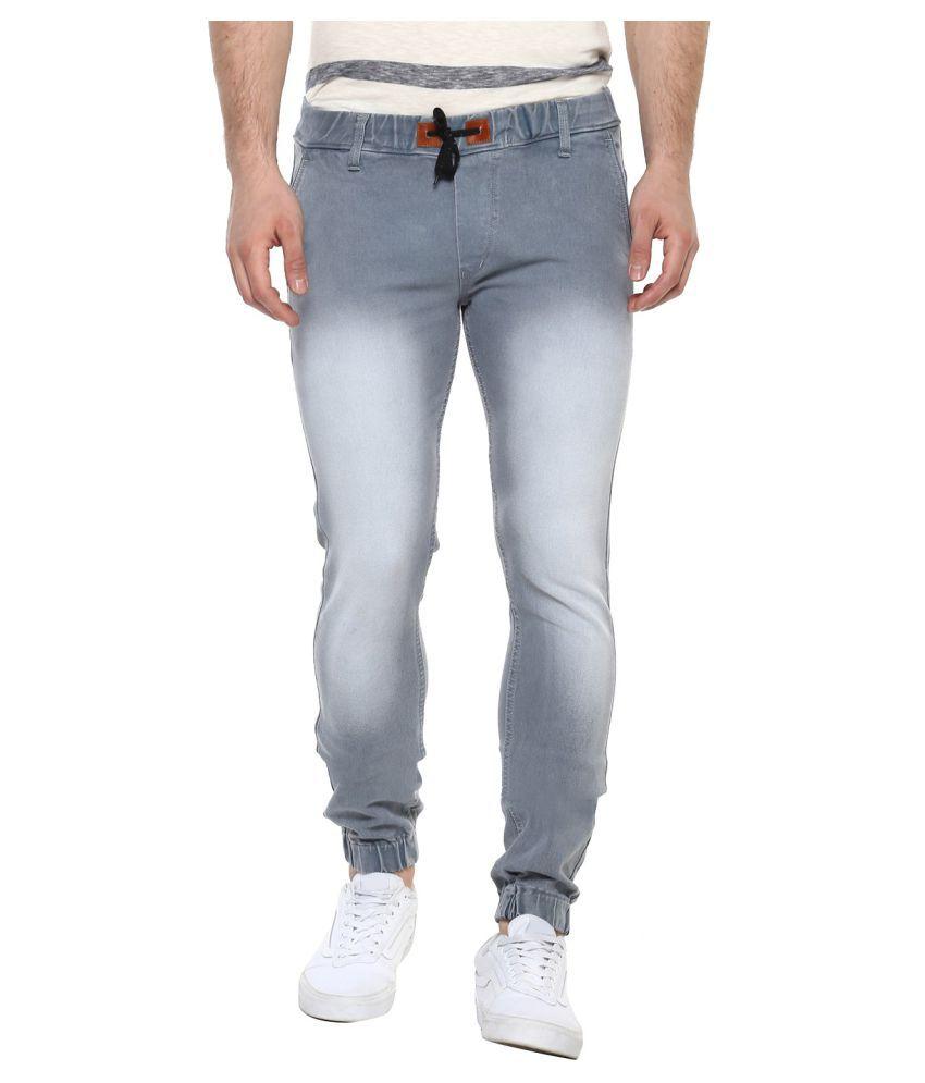 Urbano Fashion Grey Slim Jeans