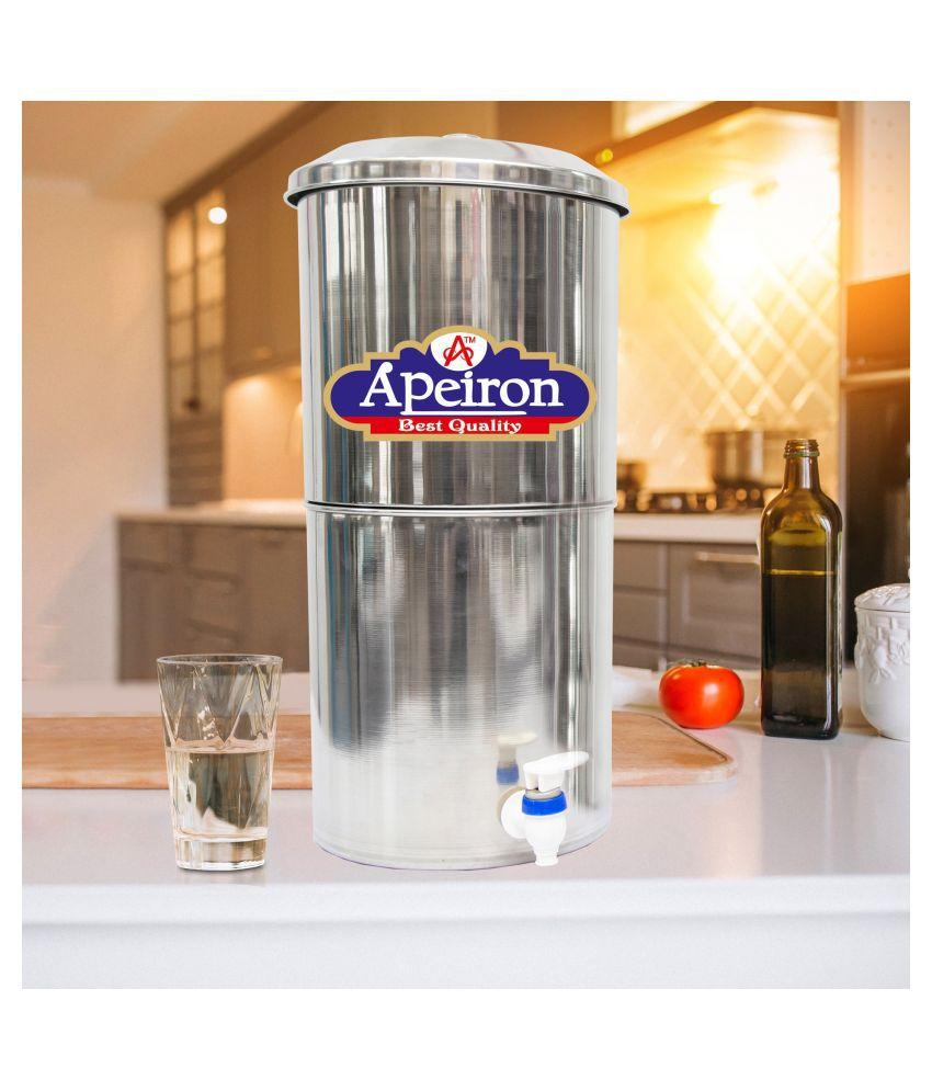 Apeiron Water filter 21 ltr Bottom Loading Water Dispenser