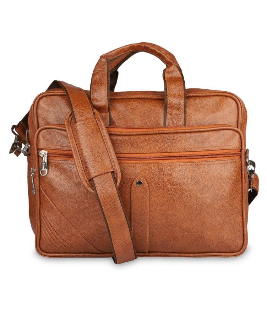 Blackbird na Tan Synthetic Office Bag