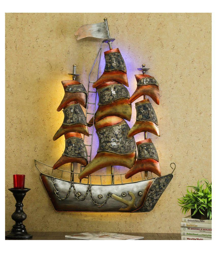 microtex Iron Mosaic Ship Designer Shape Decoratives Panel Multi - Pack of 1