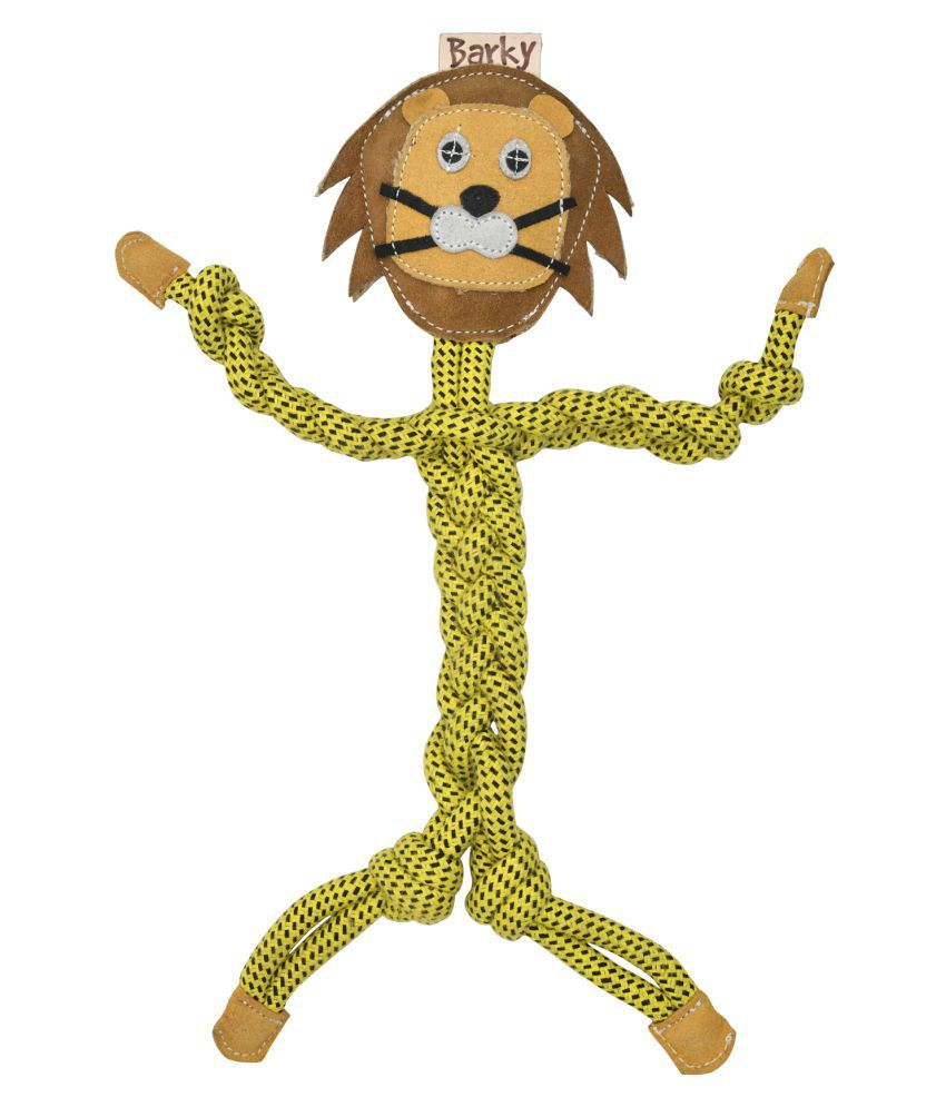 BARKY Pet dog Chewable Lion Toys for your loveable pets to play always