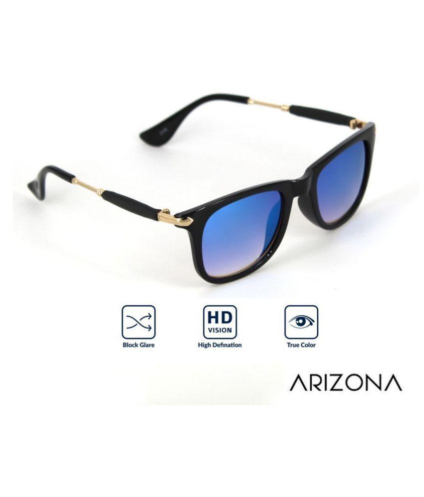 Arizona Sunglasses - Blue Square Sunglasses ( 2148 )