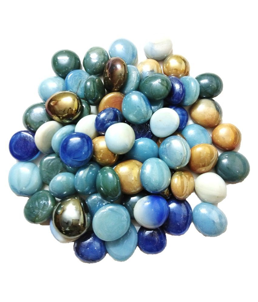 DS1 Decorative Pebble multicolor for Garden Decor (400 Gm)