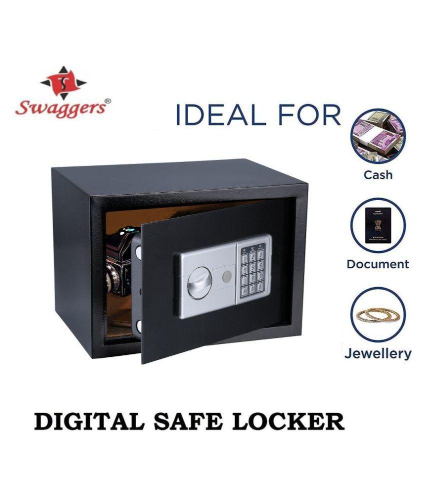 Swaggers Digital Safe Locker/Cash Locker/Cash box/Electronic Locker(H200*W310*D200)mm