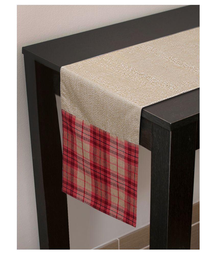 mezposh 8 Seater Cotton Single Table Runner