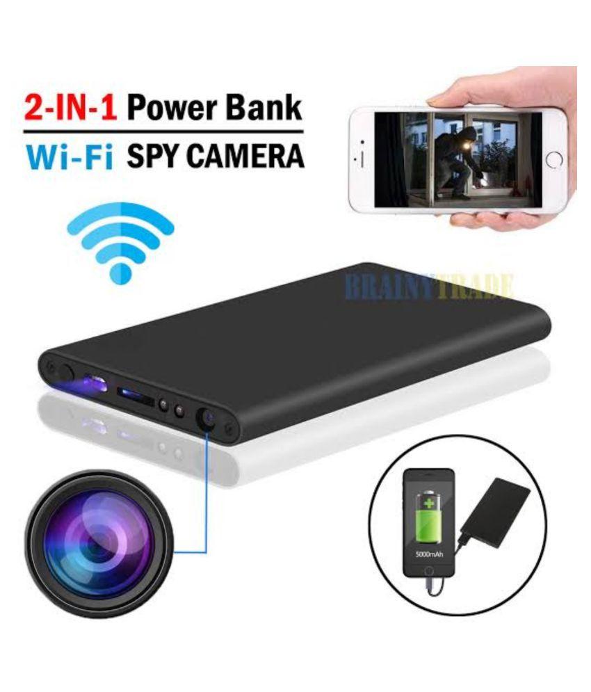 KAVISAM WIFIPBCAM Powerbank Spy Product