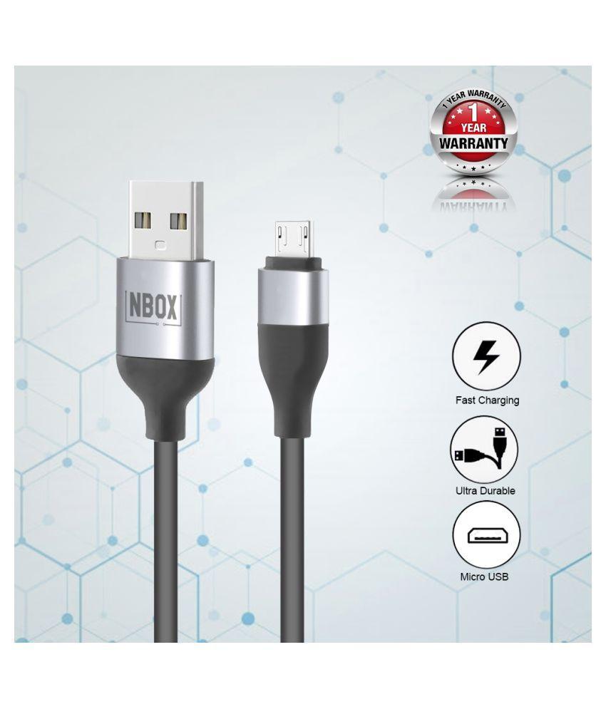 NBOX USB Data Cable Black - 1 Meter