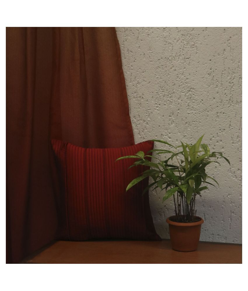Zeba Single Polyester Cushion Covers 30X30 cm (12X12)