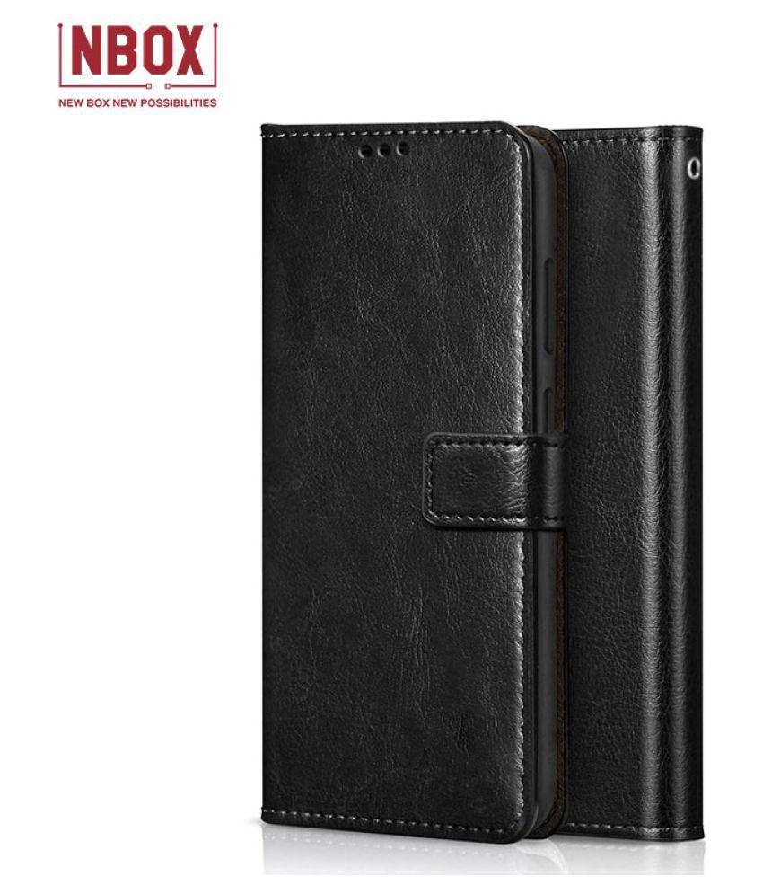 Asus Zenfone Max Pro M1 Flip Mobile Cover by NBOX   Black