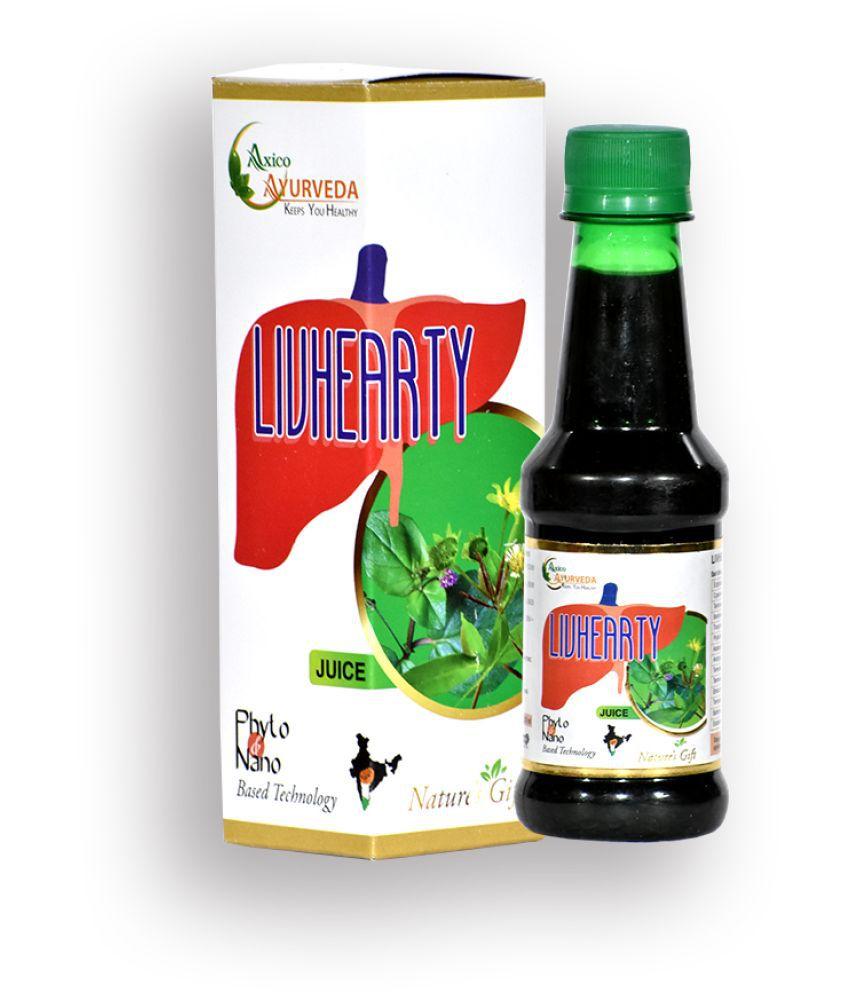 AXICO LIVHEARTY JUICE LEVER DETOX Liquid 200 ml