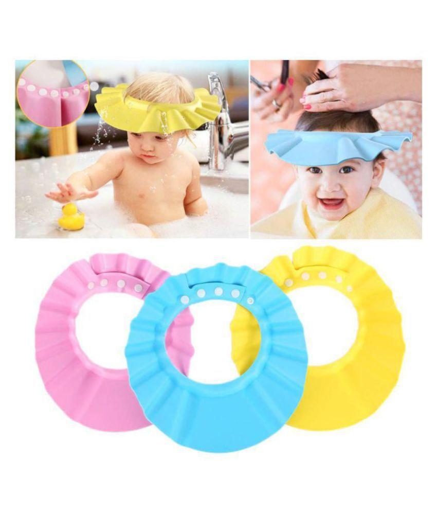 Baby Toddler Shampoo Bath Shower Cap Wash Hair Ear Shield