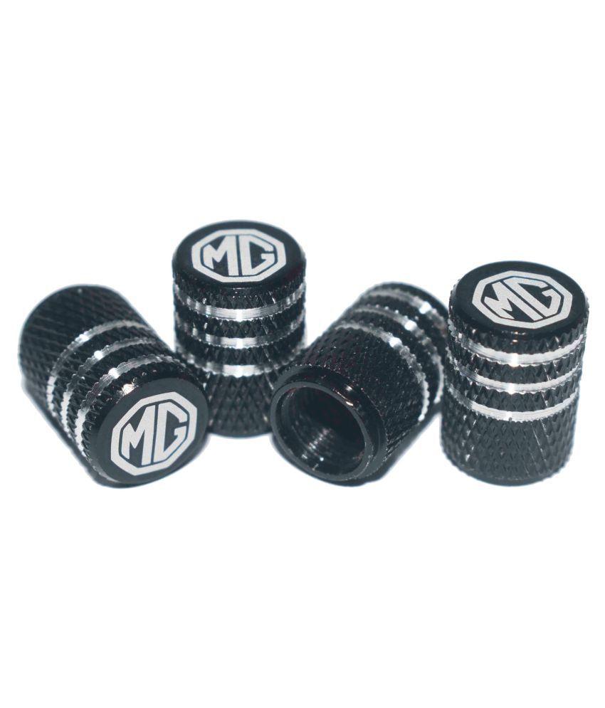 INCOGNITO Tyre Valve Caps Plain Set of 4