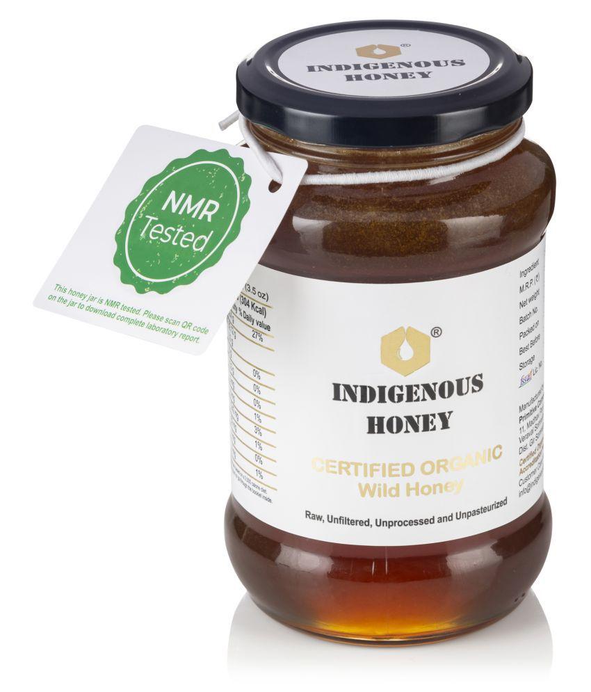 INDIGENOUS HONEY INDIGENOUS HONEY Wildflower Honey Natural Unprocessed 530 g