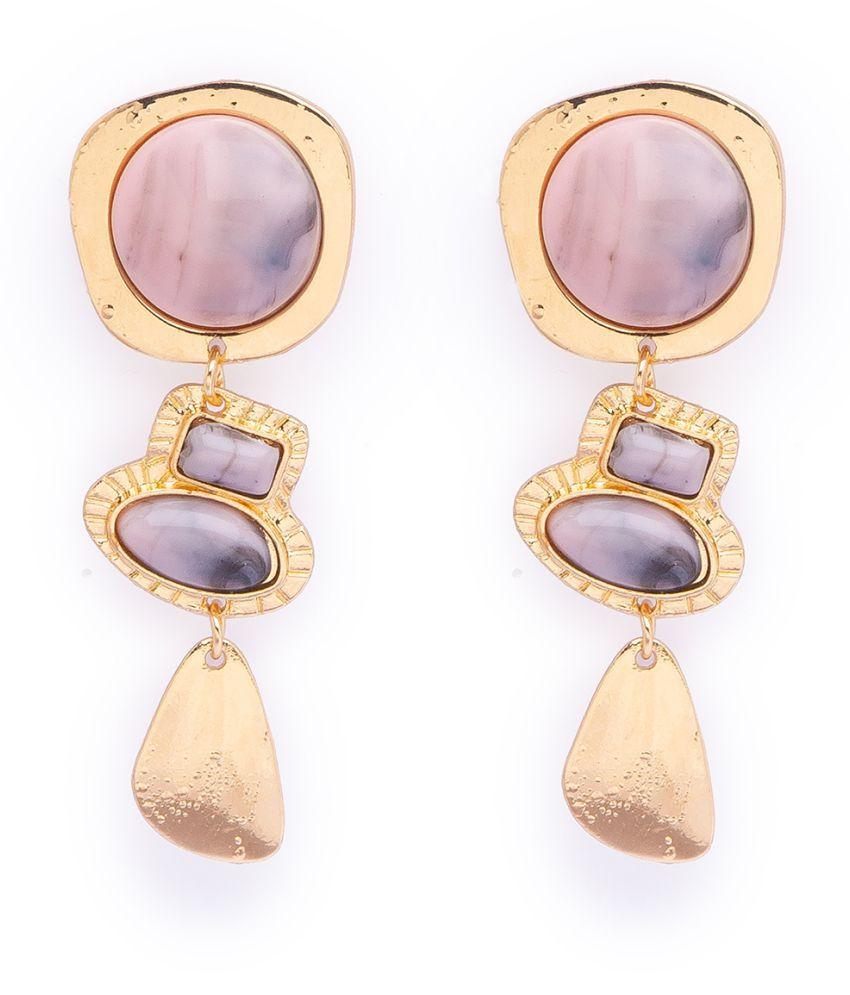 Globus Gold Long Earring