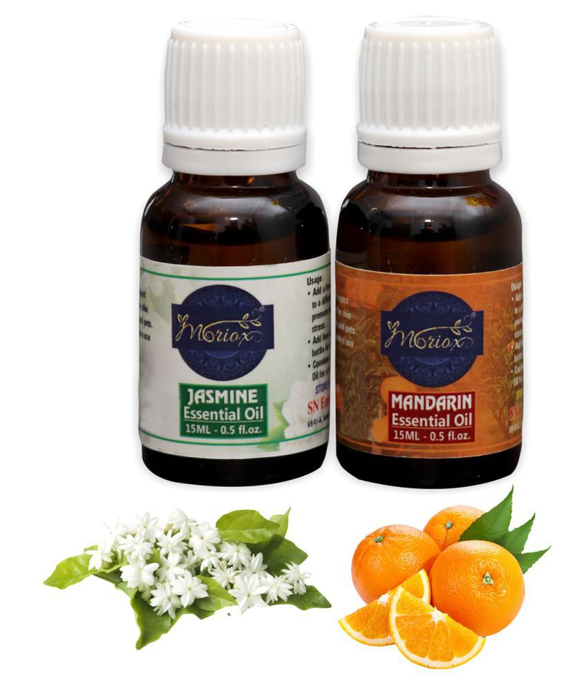 Moriox Jasmine essential oils for Hair,Skin & Aromatherapy -Pack of 2 Aroma/Diffuser/Soap Oil Essential Oil 120 g
